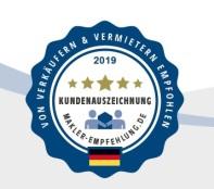 Link zu Makler Empfehlung - Kundenauszeichnungen als Immobilienmaker in Dresden